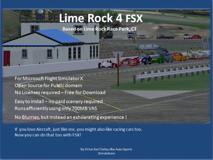 LimeRock4FSX